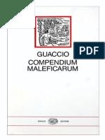 Guaccio-Compendium Maleficarum - L. Tamburini (a Cura Di)