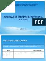 Avaliacao Do Contrato de Autonomia 2014-2015