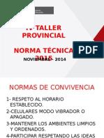 PPT Norma Tecnica 2015
