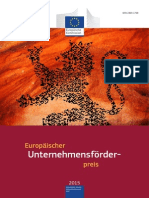 European Enterprise Promotion Awards Compendium 2015 in German