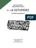 La Estupidez Rafael Spregelburd
