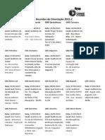 Reuniões de Orientação 2015.2 Cronograma e Endereços (1)