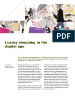 luxury shopping in the digital age