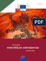 European Enterprise Promotion Awards Compendium 2015 in Estonian