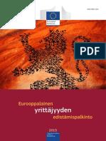 European Enterprise Promotion Awards Compendium 2015 in Finnish