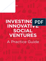 Investing in Innovative Social Ventures