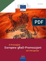 European Enterprise Promotion Awards Compendium 2015 in Maltese