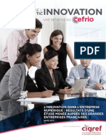 2013 Innovation Entreprise Numerique Indice Innovation TIC CEFRIO CIGREF