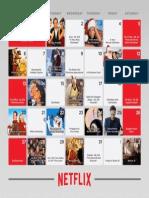 Netflix December 2015 holiday calendar