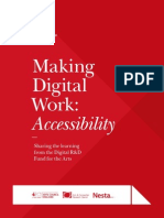 Making Digital Work - Accessibility