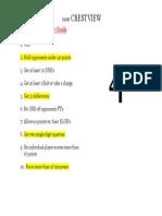 Game Goal Sheet Crestview