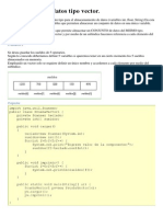 Estructura de datos tipo vector