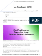 Education Loan Task Force (ELTF)_ Clarifications on Education Loan Interest Subsidy Scheme (CSIS)
