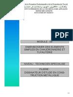 Module 13 Dimensionner Des Elements Simple en Chaudronnerie Et Tuyauterie
