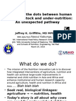 Connecting the dots between human malaria, livestock, and under-nutrition