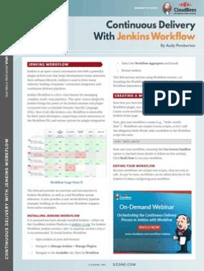 Cdw Jenkins Workflow | Version Control | Scripting Language