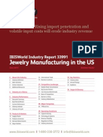 33991 Jewelry Manufacturing in the US Industry Report
