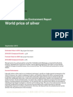 World price of silver