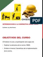 OSHAS 18000curso PDF