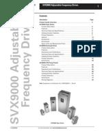 SVX9000 Manual