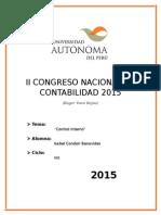 II Congreso Nacional de Contabilidad 2015 - Copia