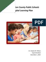 wcps digital learning plan finalrev-1