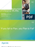 BRKEWN-2010 - Design and Deployment of Enterprise WLANs