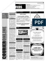 Claremont COURIER Classifieds 12-4-15