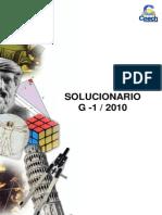 Sol. Guia G-1 Angulos y Poligonos