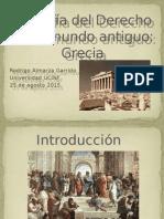 Filosofía Del Derecho en El Mundo Antiguo
