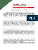 PR. JORGE LEDESMA- Los Tesoros Del Corazón
