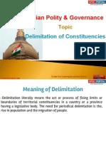14 (a) Delimitation of Constitutioncies
