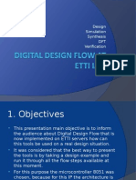 Digital Design Flow ETTI Prezentation 2012 - ElectroScientific