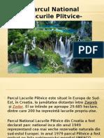 Parcul National Lacurile Plitvice-Croatia Ppt