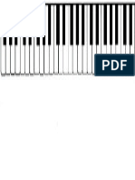Piano Keyboard (labeled)