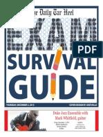 Exam Survival Guide 2015