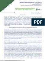 El Proyecto Educativo Del Gobierno Del Distrito Federal_Adriana Medina Espino