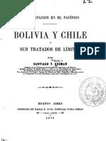 La usurpación en el Pacifico - Bolivia y Chile 1879