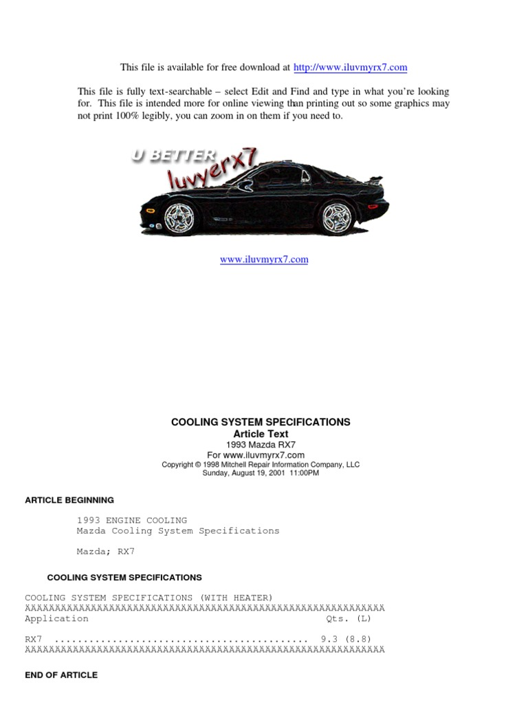 1991 Rx7 Engine Diagram Schematic Diagrams Mazda Rx 7 Visual 90 Wiring Trusted Clean Bay Fd
