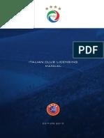 FIGC, Italian Club UEFA Licensing (2015)