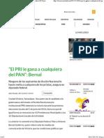 30-11-15 El PRI Le Gana a Cualquiera Del PAN