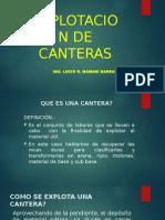 9. Explotacion de Canteras