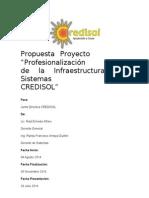 Proyecto Profesionalización de Infraestructura de Sistemas