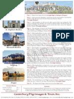 Pilgrimage to Hungary, Austria, Czech Republic | Canterbury Pilgrimages