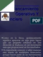 Apalancamiento FINANCIERO Y OPERATIVO.ppt
