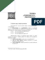 6.TEORIA INDIFERENTA-PREFERINTA