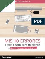 Mis 10 Errores Disenadora Freelance 2 Edicion