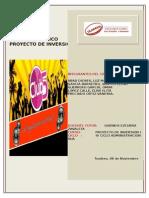 Monografia Localizacion Proyecto de Inversion