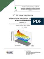 Statistical Analysis on Wind Turbines Failures
