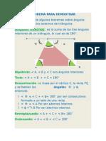 8 Teorema Para Demostrar